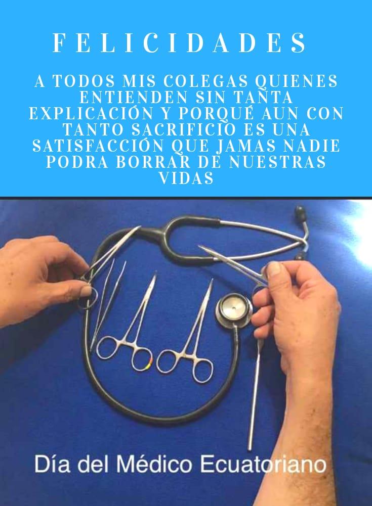 21 de Febrero Día del Medico Ecuatoriano